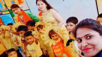 mrd international school student celebrated mango day 2019